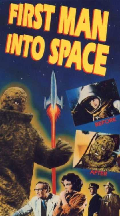 VHS Videos - First Man Into Space