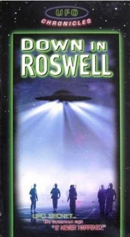 VHS Videos - Down in Roswell