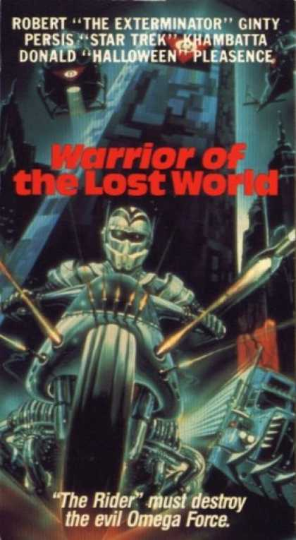 VHS Videos - Warrior Of the Lost World