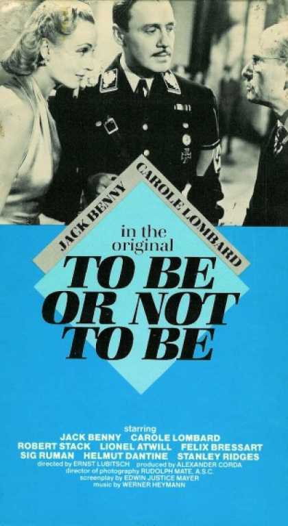 VHS Videos - To Be or Not To Be