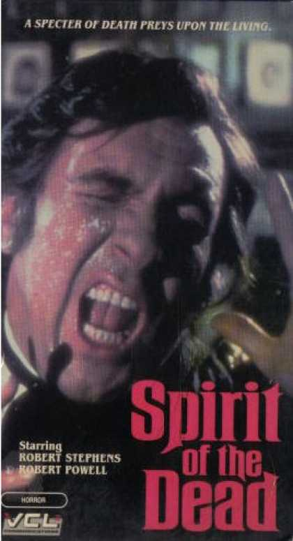 VHS Videos - Spirit Of the Dead Aka Asphyx