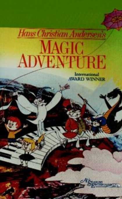 VHS Videos - Magic Adventure