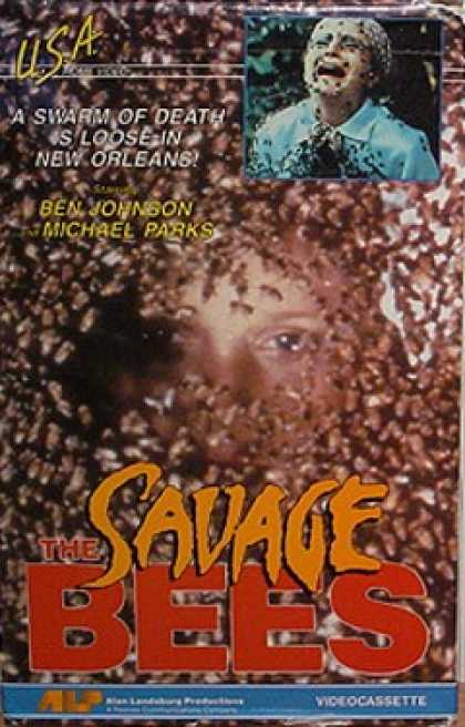 VHS Videos - Savage Bees