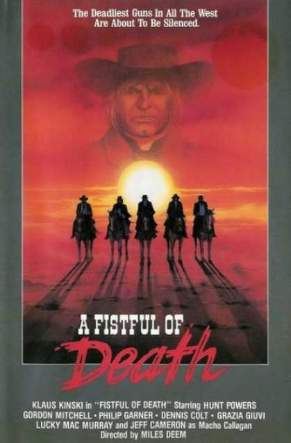 VHS Videos - Fistful Of Death