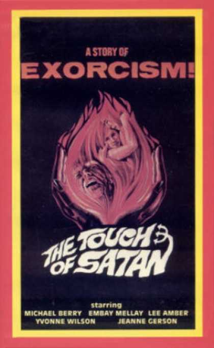 VHS Videos - Touch Of Satan King Of Video