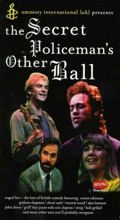 VHS Videos - Secret Policeman's Other Ball