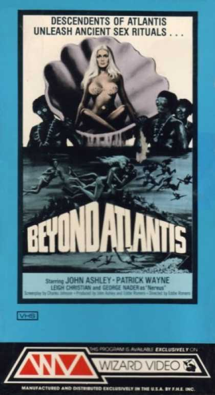 VHS Videos - Beyond Atlantis Wizard Video