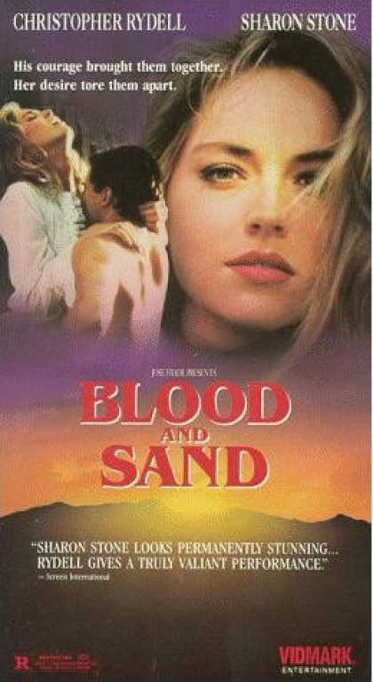 VHS Videos - Blood and Sand