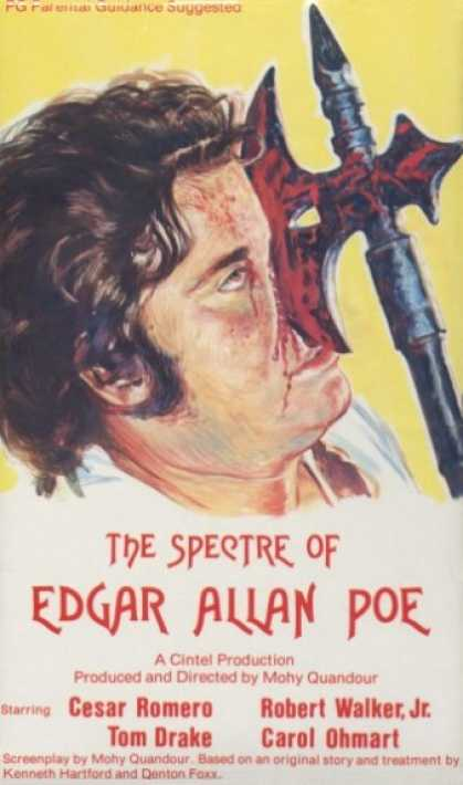 VHS Videos - Spectre Of Edgar Allan Poe