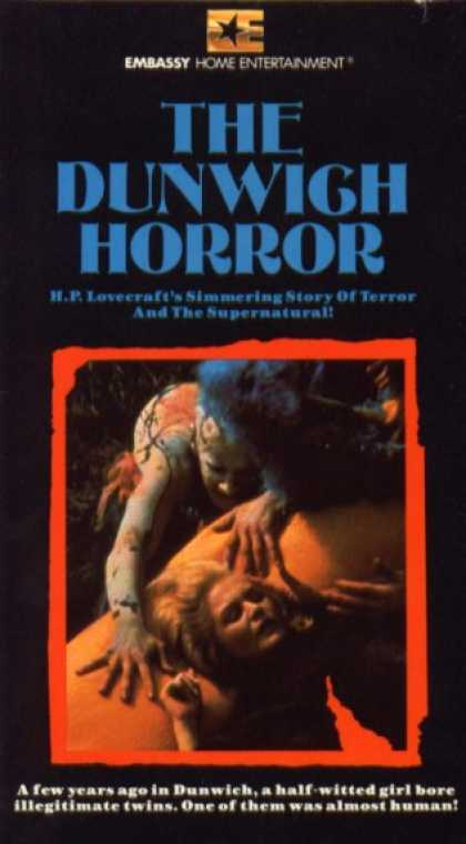 VHS Videos - Dunwich Horror