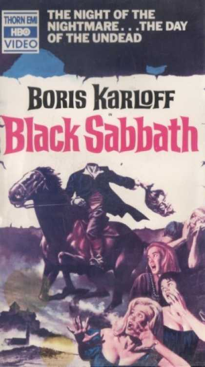 VHS Videos - Black Sabbath Thorn