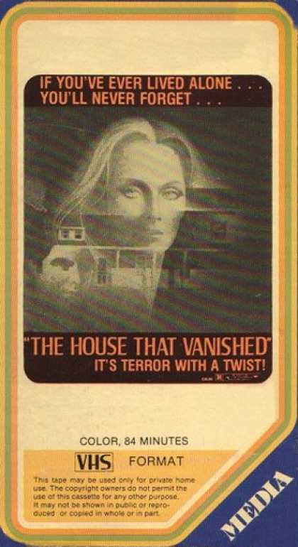 VHS Videos - House That Vanished