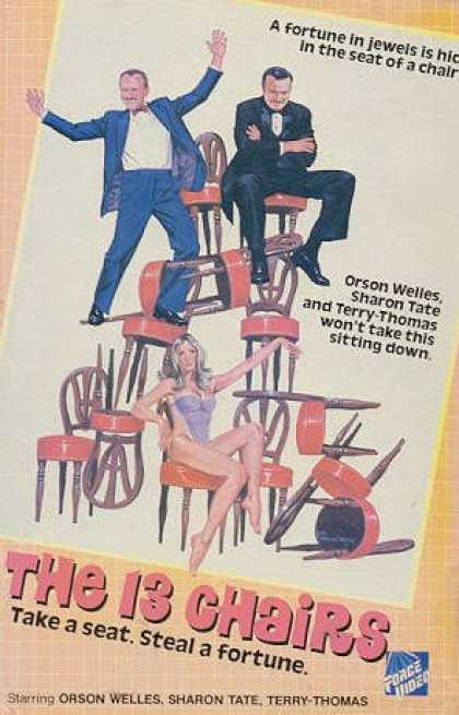 VHS Videos - 13 Chairs