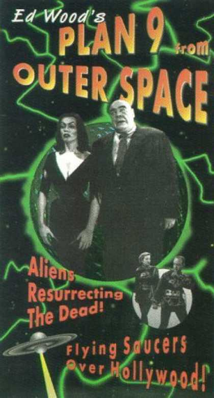 VHS Videos - Plan 9 From Outer Space