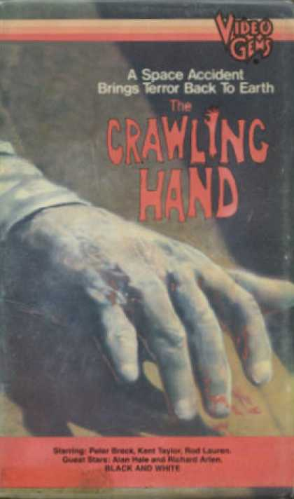 VHS Videos - Crawling Hand