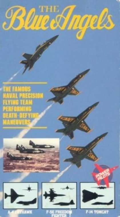 VHS Videos - Blue Angels