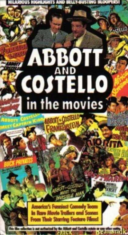 VHS Videos - Abbott and Costello in the Movies Goodtimes