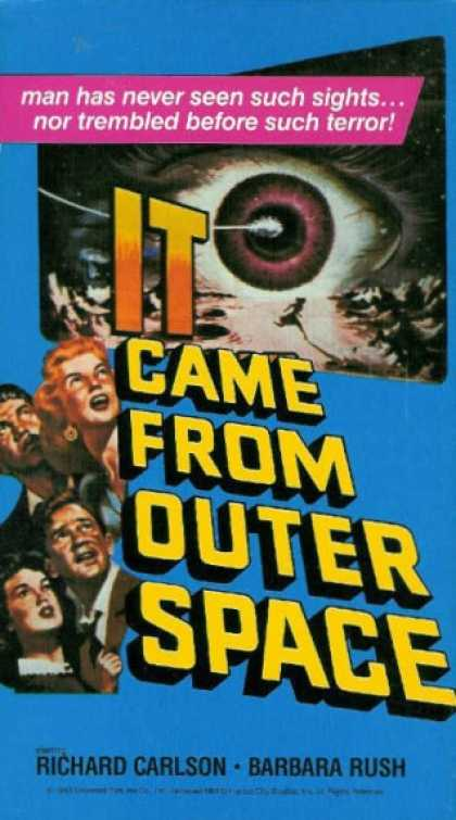 VHS Videos - It Came From Outer Space