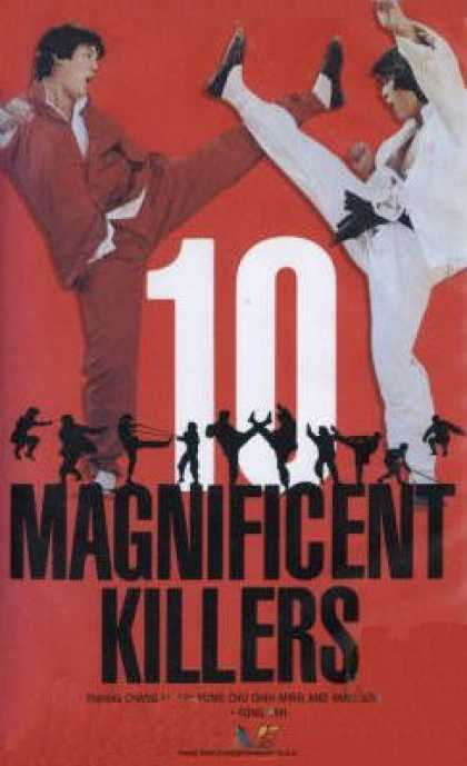 VHS Videos - 10 Magnificent Killers
