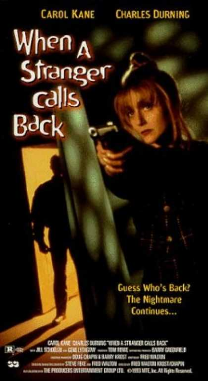 VHS Videos - When A Stranger Calls Back