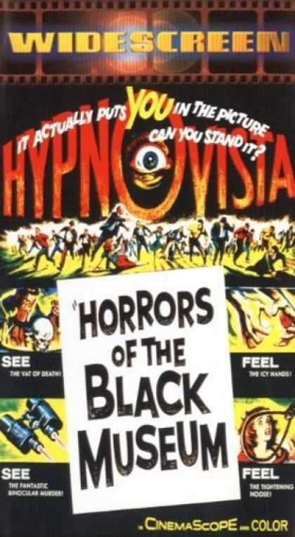 VHS Videos - Horrors Of the Black Museum