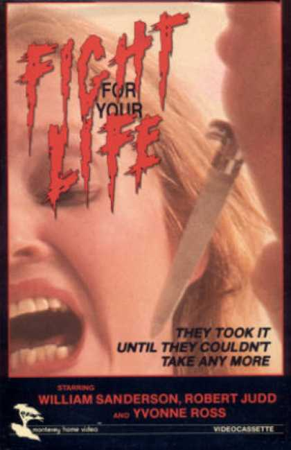 VHS Videos - Fight For Your Life