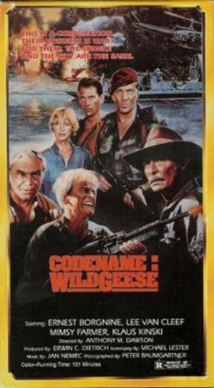 VHS Videos - Codename Wildgeese