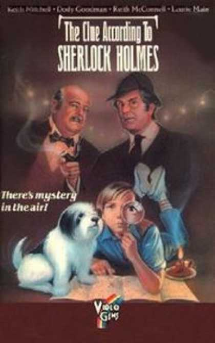 VHS Videos - Clue According To Sherlock Holmes