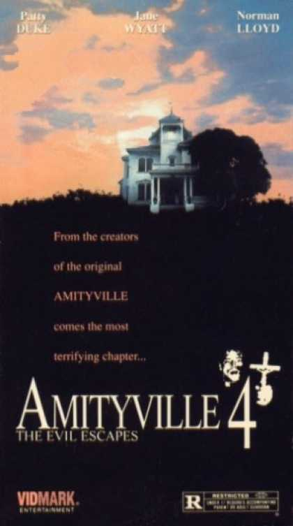VHS Videos - Amityville 4 the Evil Escapes