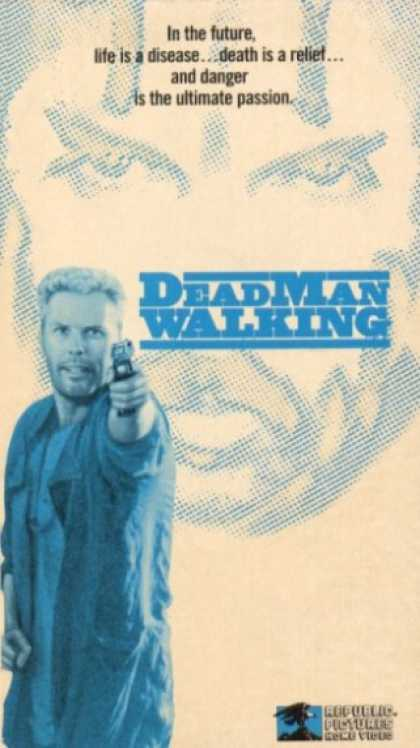 VHS Videos - Dead Man Walking 1987