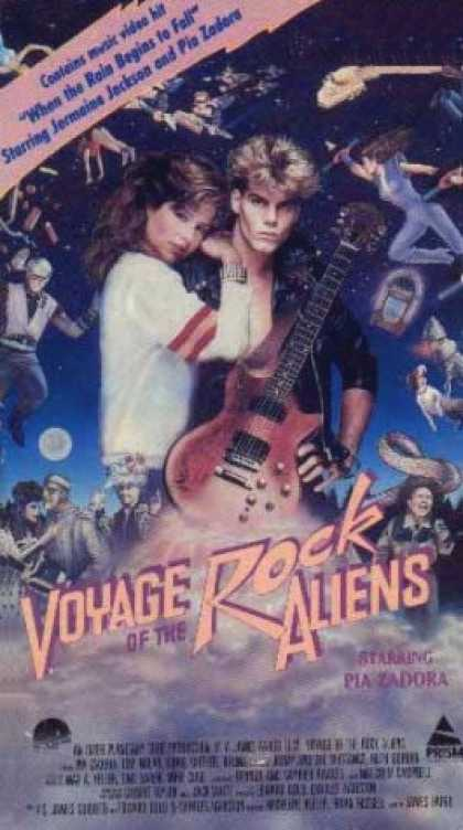 VHS Videos - Voyage Of the Rock Aliens Prism