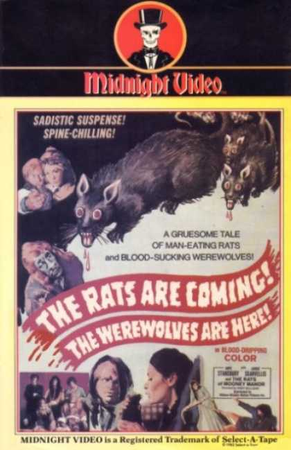 VHS Videos - Rats Are Coming Werewolves Are Here