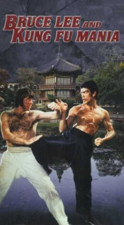 VHS Videos - Bruce Lee and Kung Fu Mania