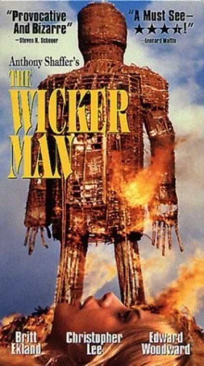 VHS Videos - Wicker Man