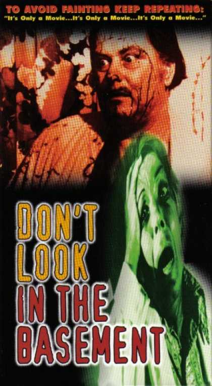 VHS Videos - Don't Look in the Basement