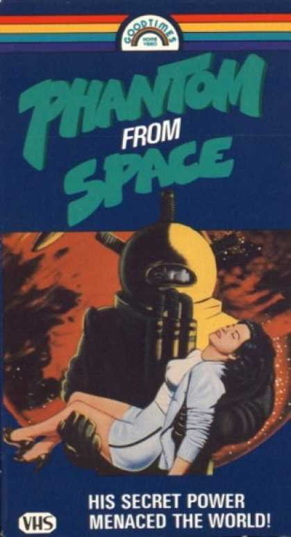 VHS Videos - Phantom From Space