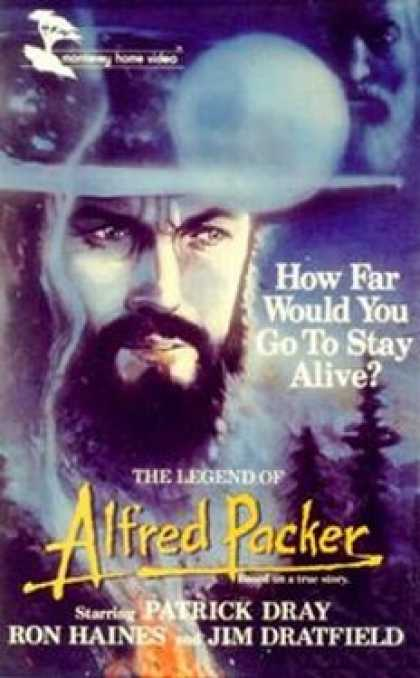 VHS Videos - Legend Of Alfred Packer