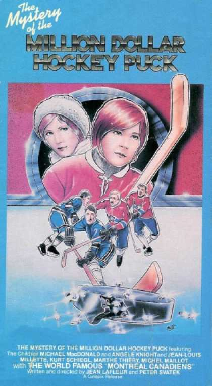 VHS Videos - Mystery Of the Million Dollar Hockey Puck