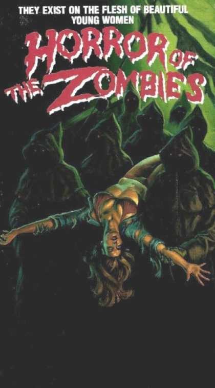 VHS Videos - Horror Of the Zombies