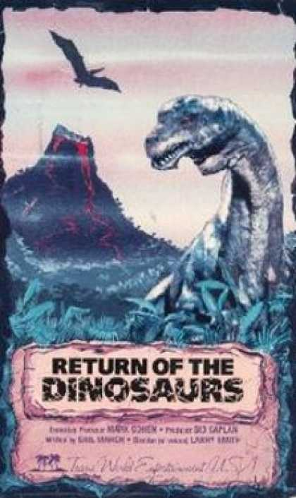 VHS Videos - Return Of the Dinosaurs
