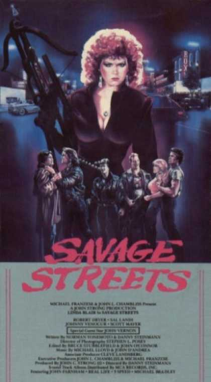 VHS Videos - Savage Streets