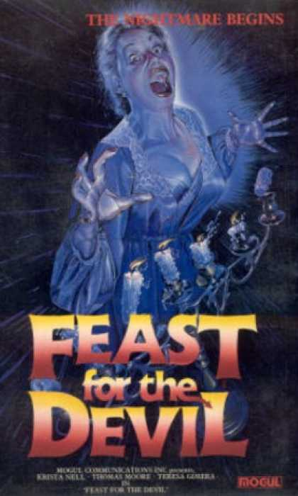 VHS Videos - Feast For the Devil
