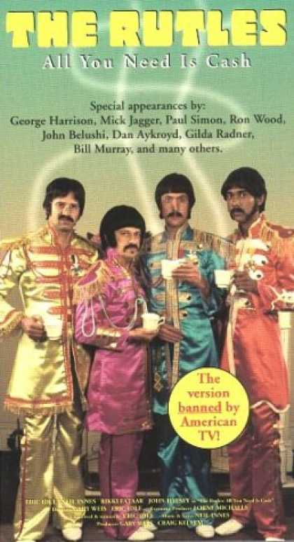 VHS Videos - Rutles All You Need Is Cash