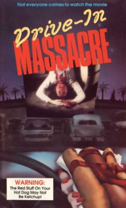 VHS Videos - Drive-in Massacre