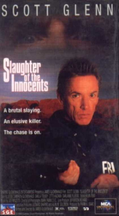 VHS Videos - Slaughter Of the Innocents