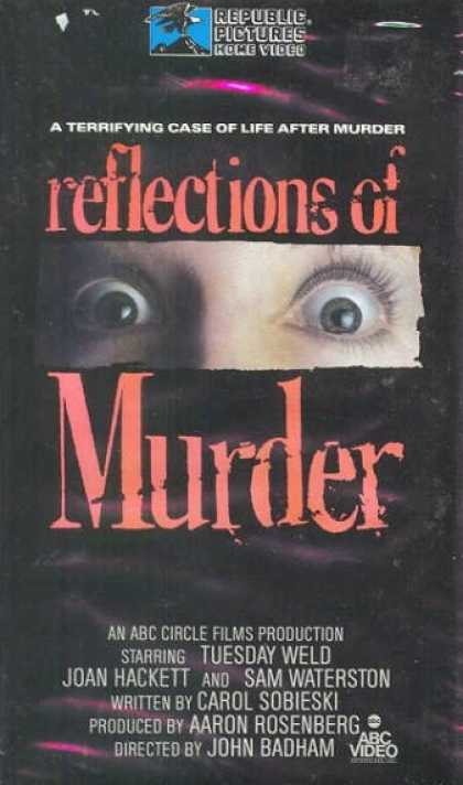 VHS Videos - Reflections Of Murder