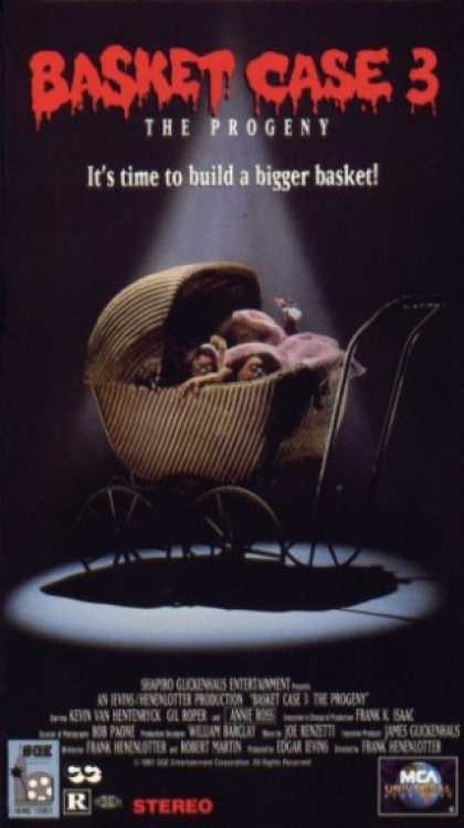 VHS Videos - Basket Case 3 the Progeny
