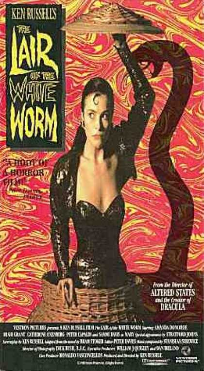 VHS Videos - Lair Of the White Worm