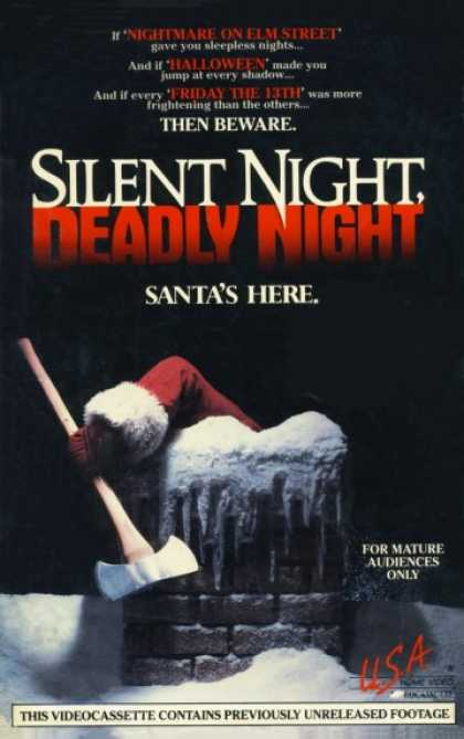 VHS Videos - Silent Night Deadly Night