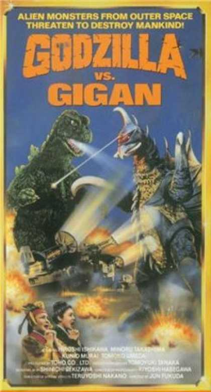 VHS Videos - Godzilla Vs Gigan